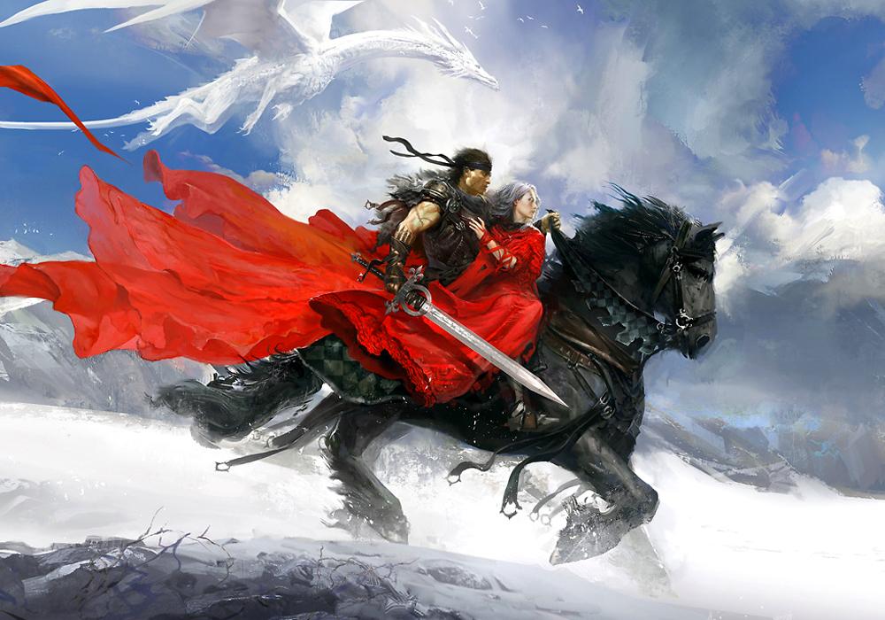cavaleiro-e-dragao-branco
