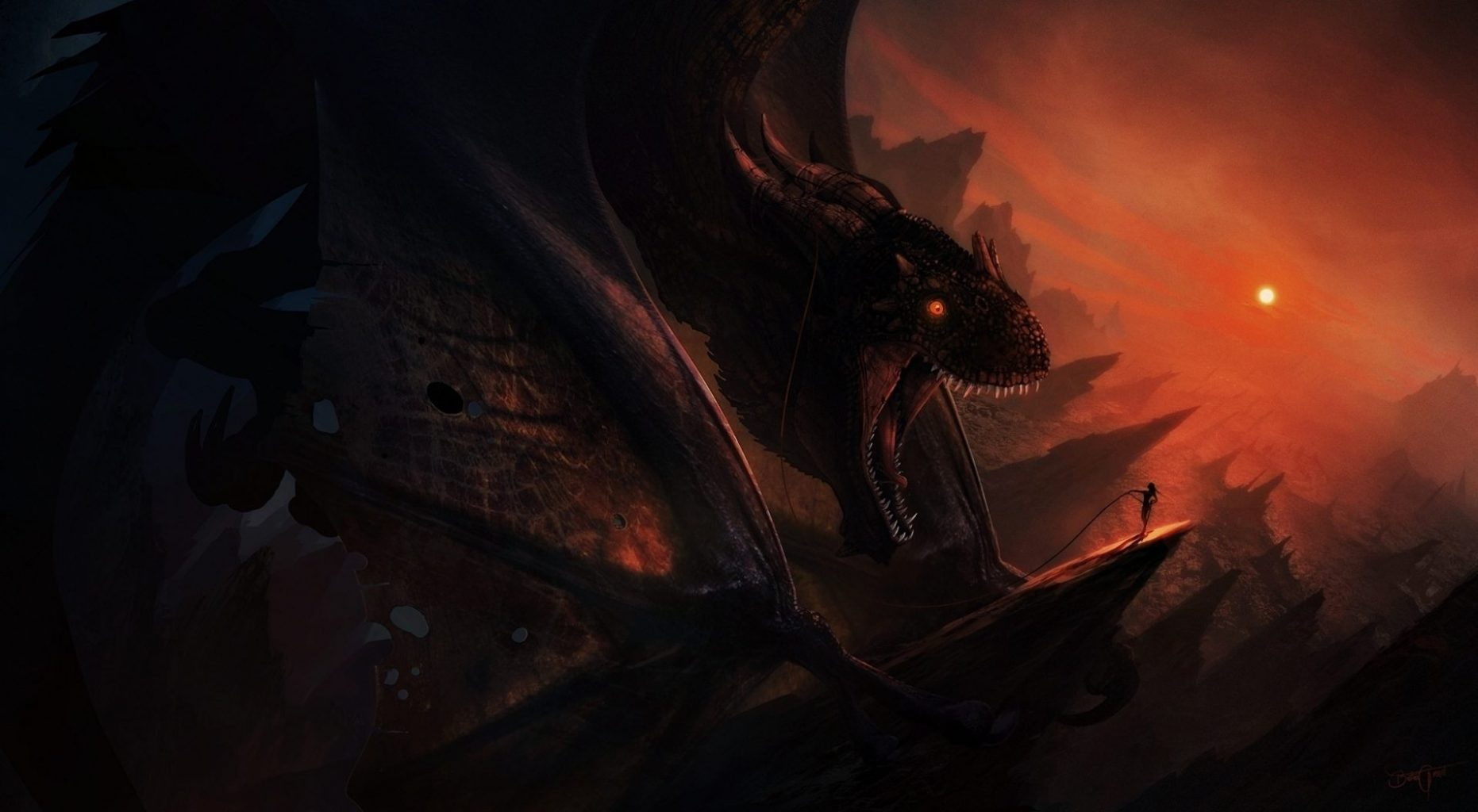 dragão-vermelho