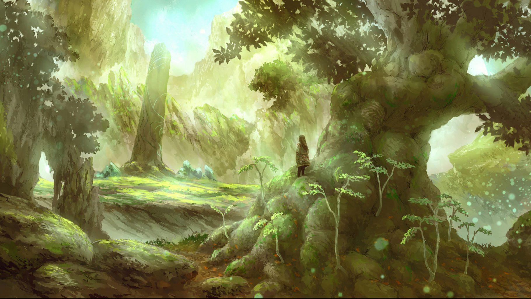 природа и человек рисунки