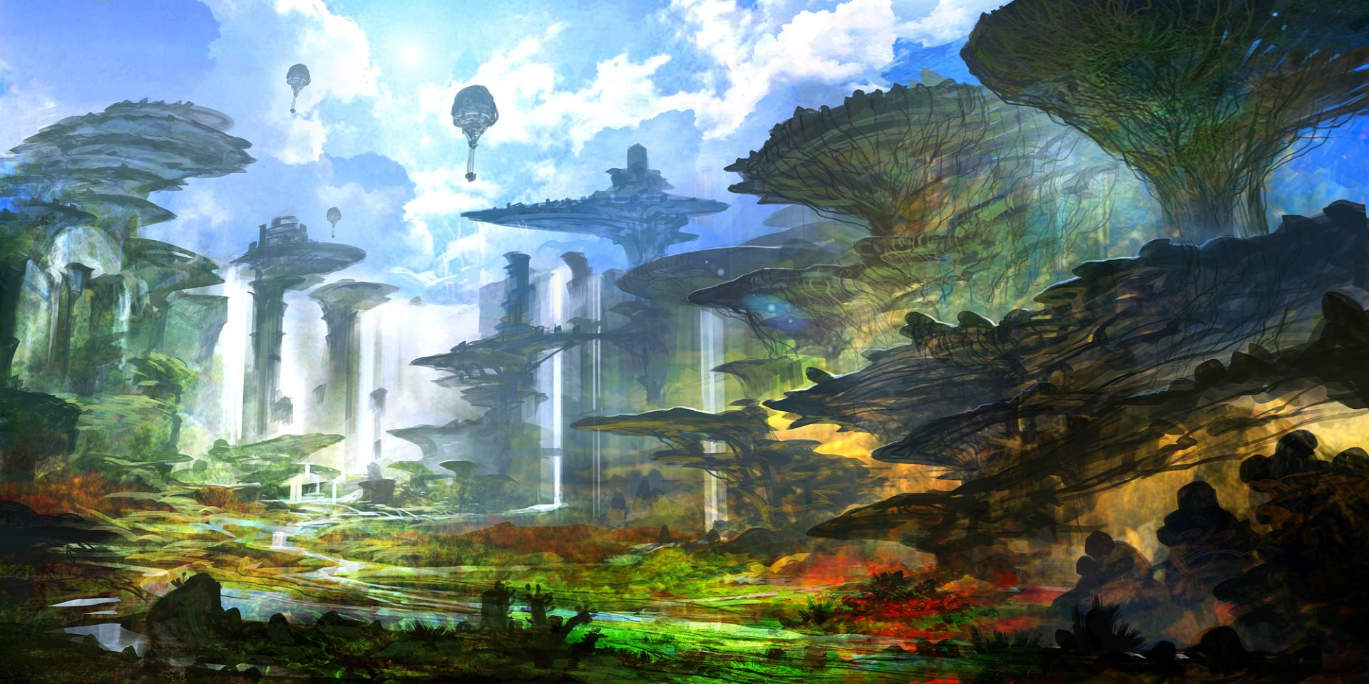 chrono cross concept art