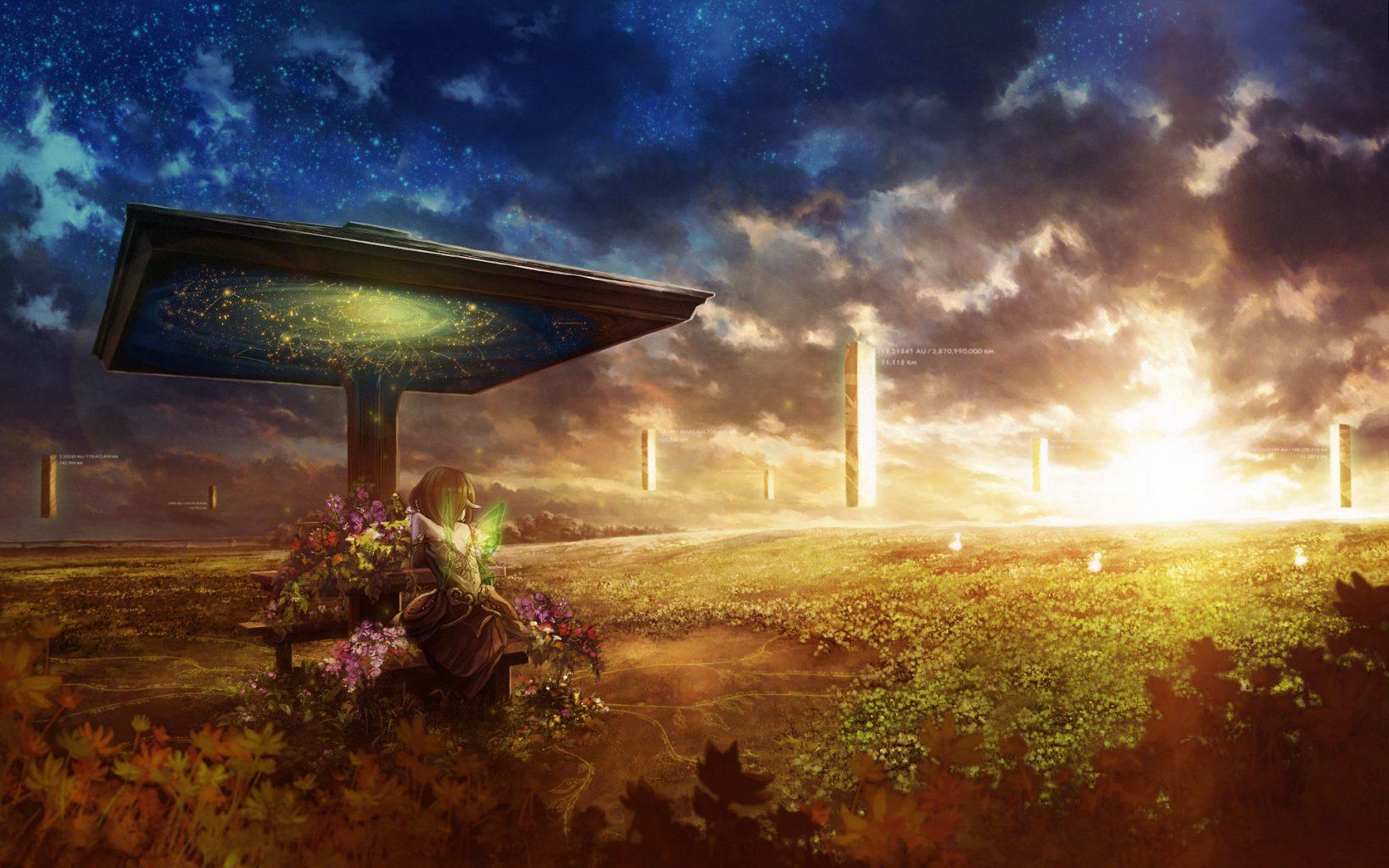 sci fi fantasy landscapes