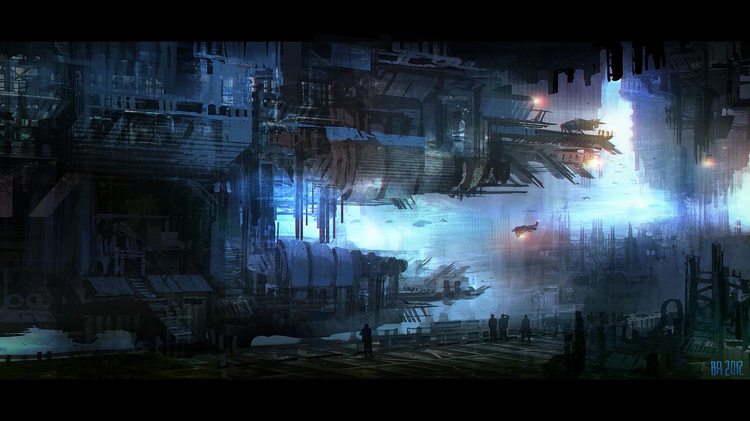 cyberpunk metropolis wallpaper - photo #10