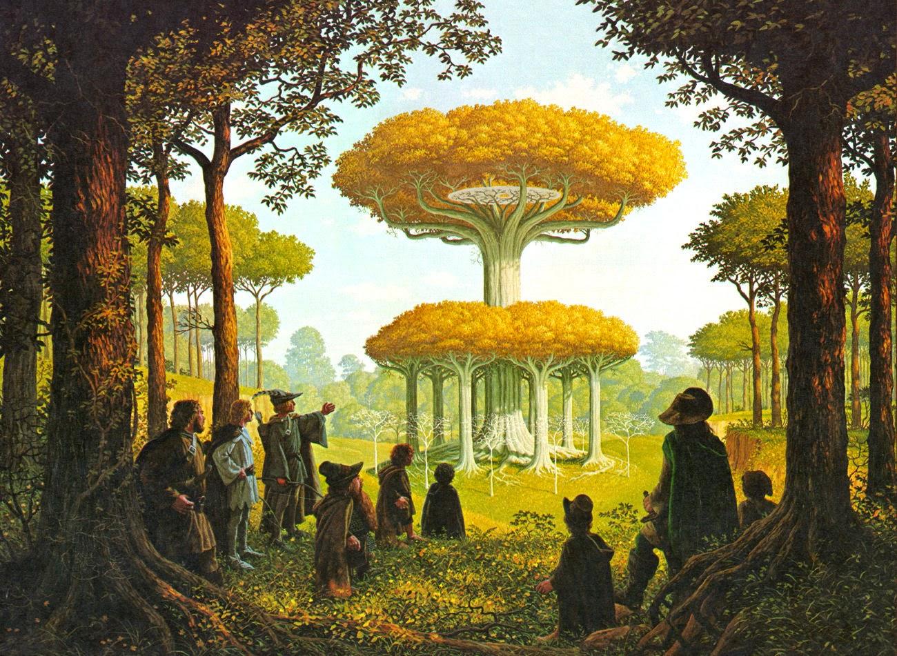 floresta de lothlorien