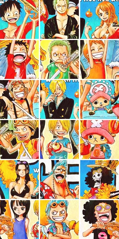 personagens one piece