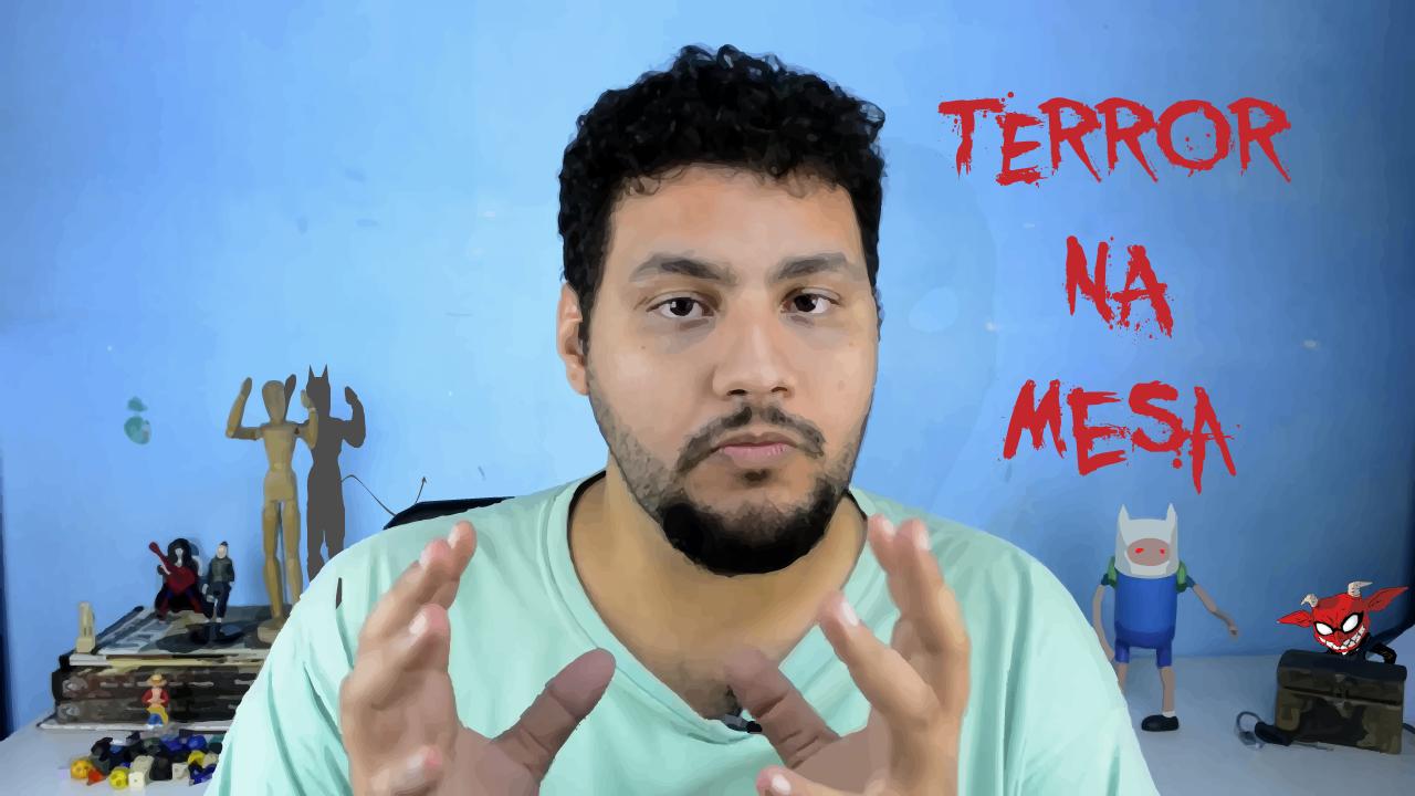 Terror na mesa de rpg