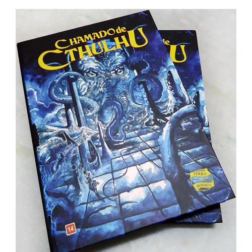 Chamado de Cthulhu RPG - Livro