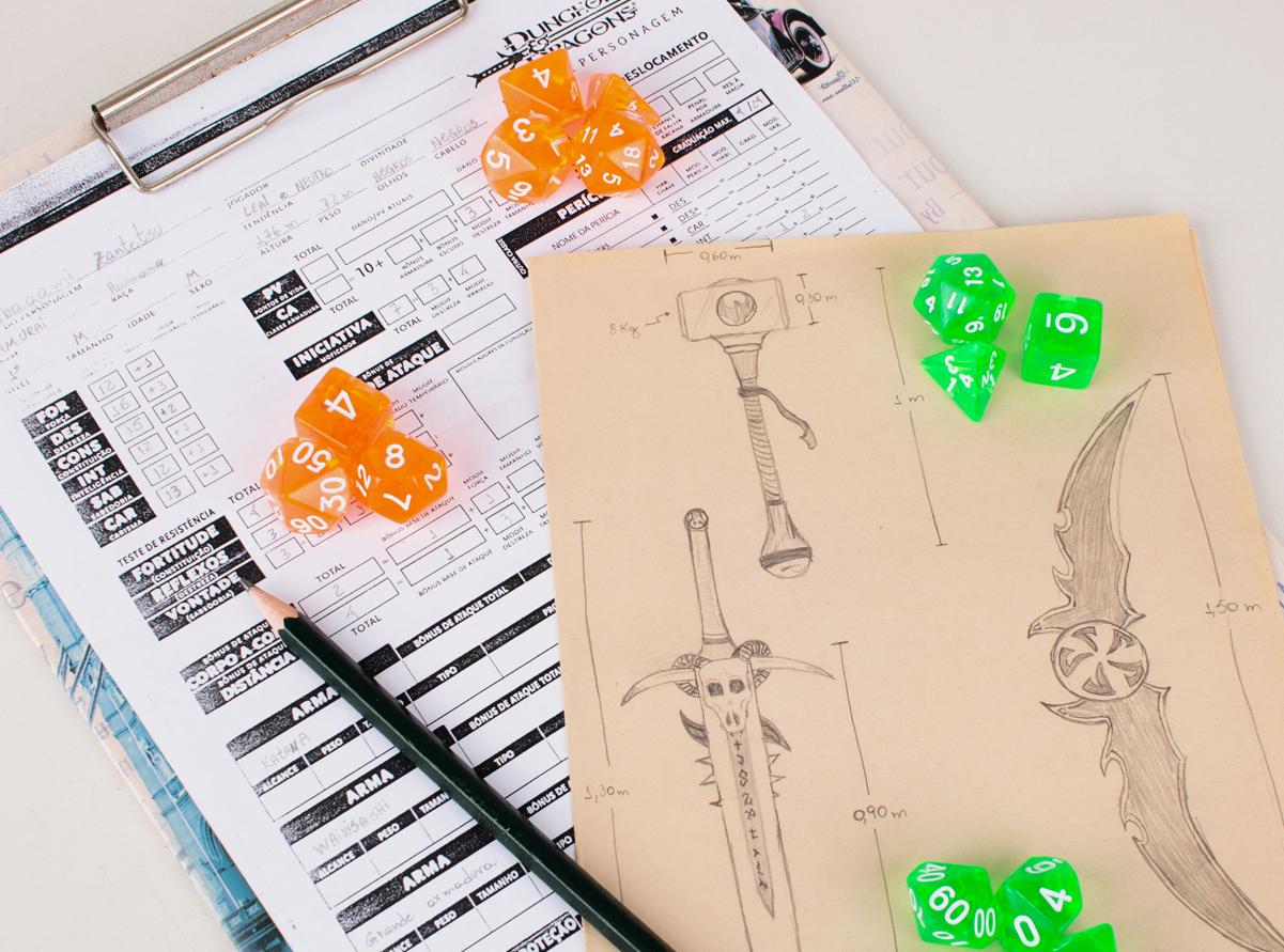 Minha vida e o RPG - reflexões por Túlio Pontes