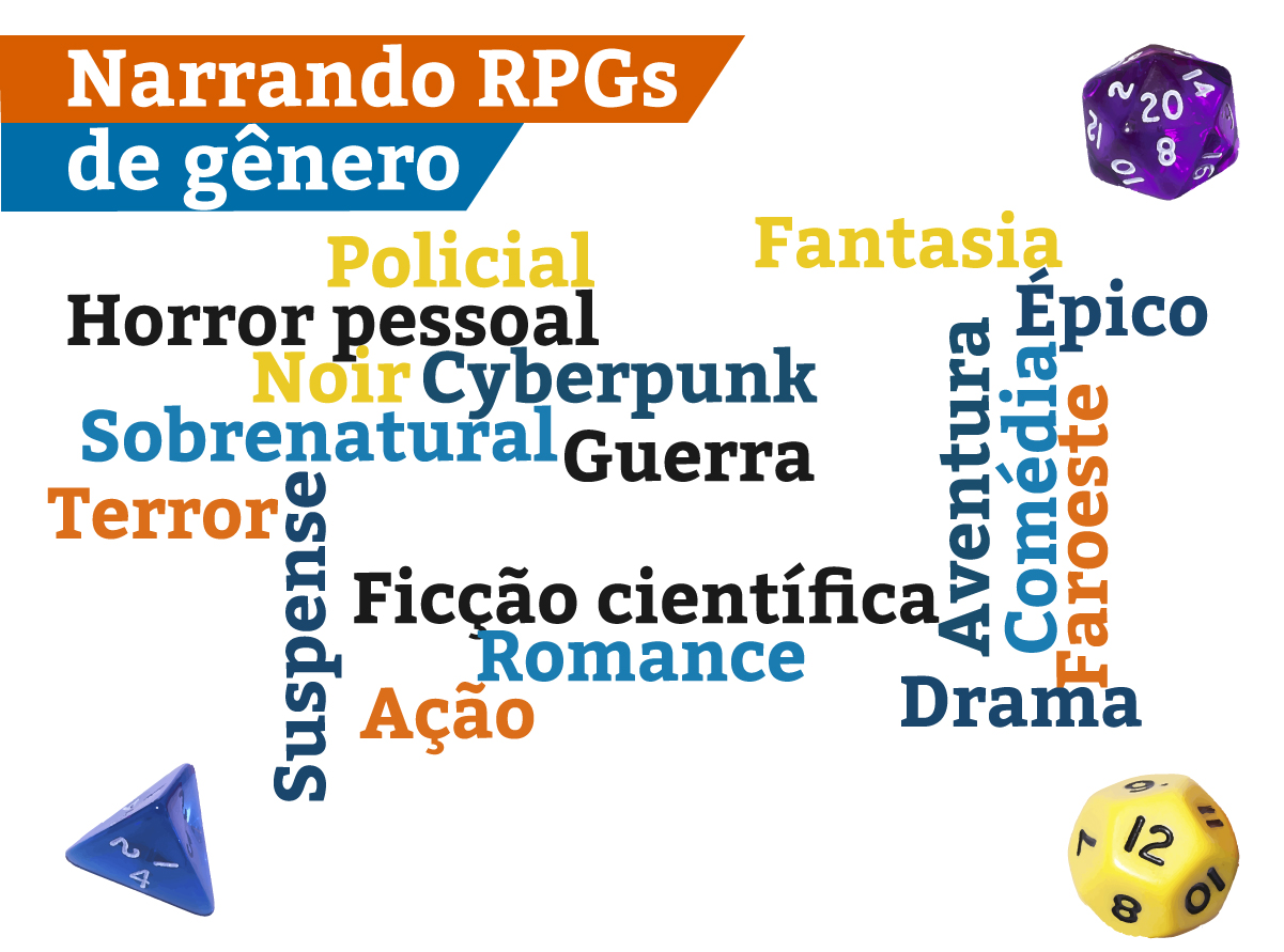 gêneros no rpg